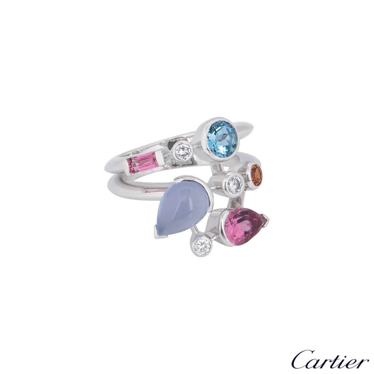 Cartier Platinum Meli Melo Ring